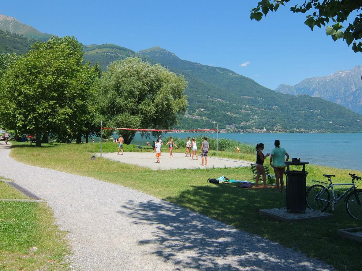 Camping Lake Como >> Piccolo Camping, Domaso Comomeer